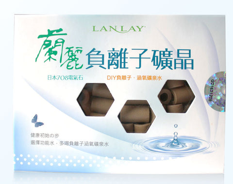 Lanlay Negative Ion (Anion) Stones - Produces antioxidants for drinking water