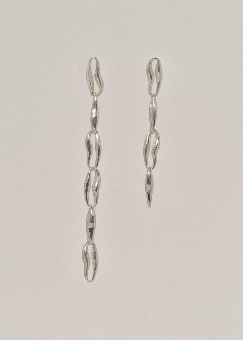 Sterling Silver Chain Earrings