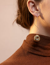 Two-Tone Hepworth Drop Earrings