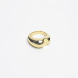 Brass Bite Ring
