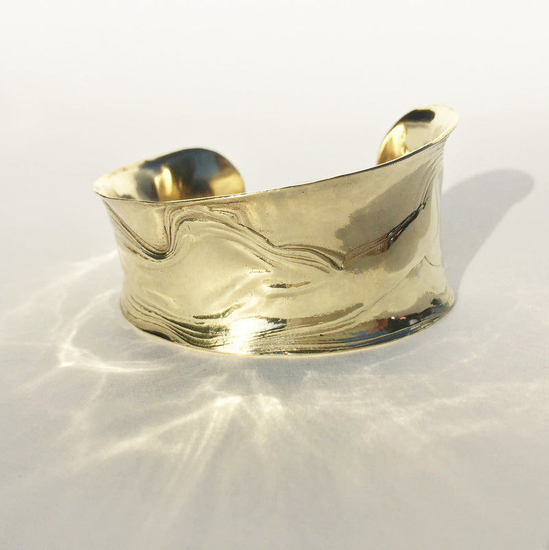 Brass Anticlast Cuff