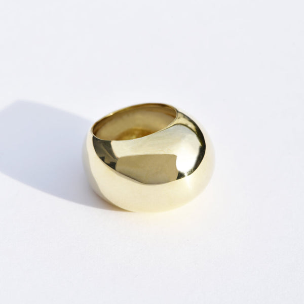 Brass Bubble Ring