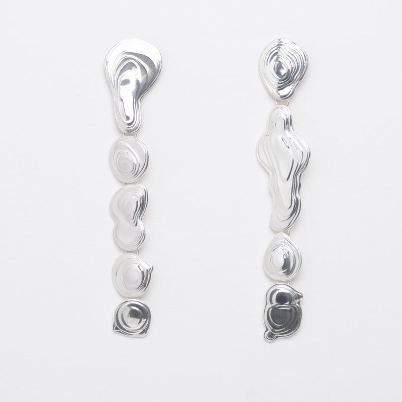 Sterling Silver Drip Earrings