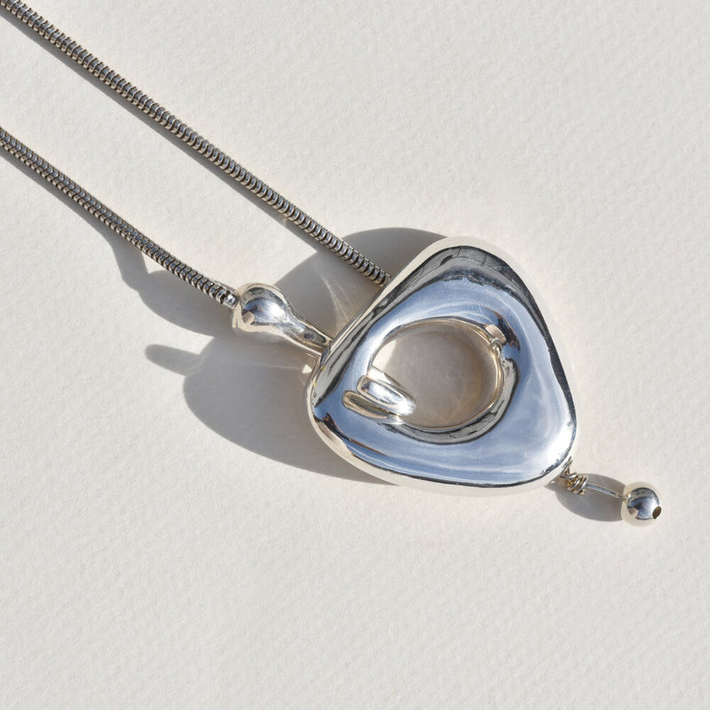 Sterling Silver Bauble Necklace