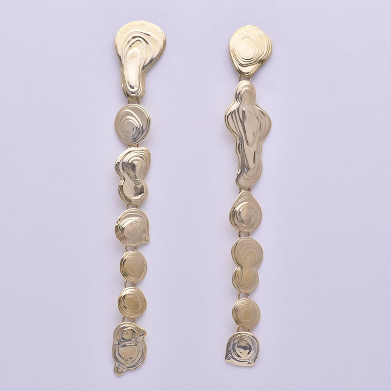 Long Drip Earrings