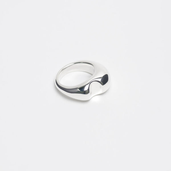 Sterling Silver Bite Ring