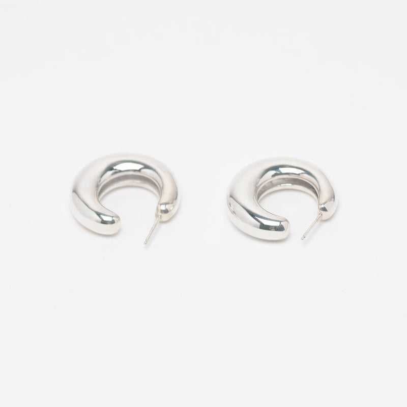 Sterling Silver Bubble Hoops