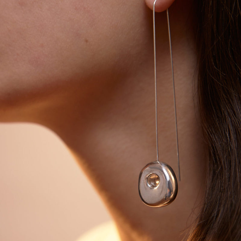 Straight Hepworth Drop Earrings
