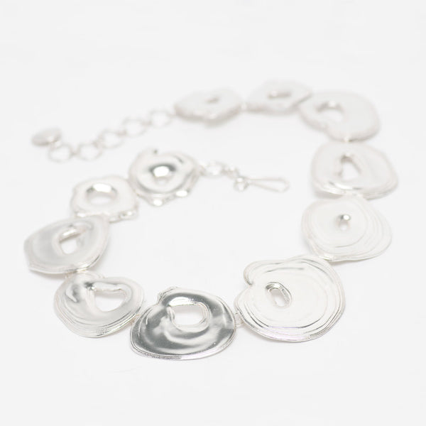 Sterling Silver Whirlpool Necklace