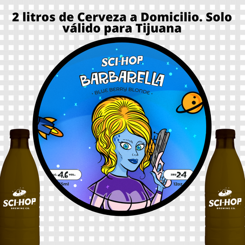 2 Litros - Solo Tijuana - Blueberry Blond