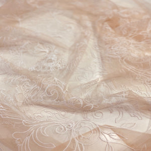 English Tulle Embroidery $490p/metre