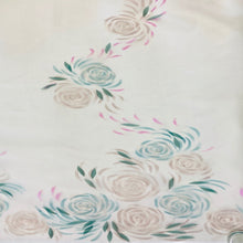 Load image into Gallery viewer, English Couture Hand Painted Organza Embroidery  $690p/metre