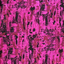 Load image into Gallery viewer, Italian Jacquard Fuschia / Black $230 p/metre