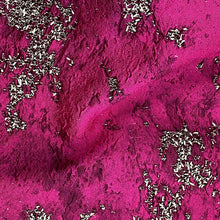 Load image into Gallery viewer, Italian Jacquard Fuschia $270 p/metre