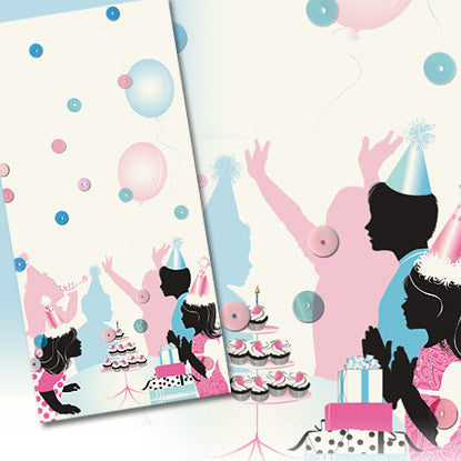 Confetti Celebrations Birthday Party Imprintable