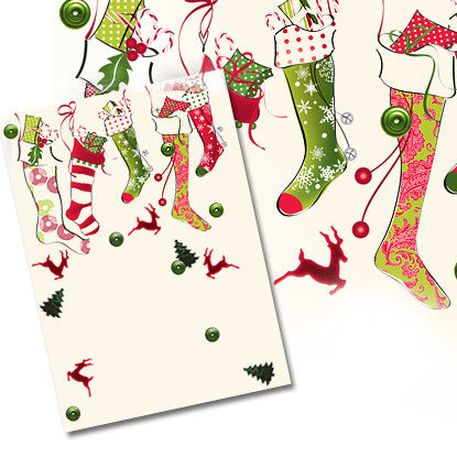 Confetti Celebrations Stocking Imprintable