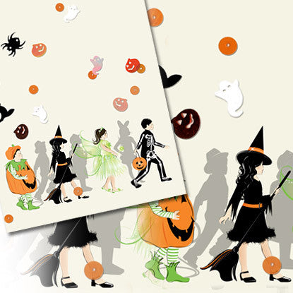 Confetti Celebrations Halloween Imprintable