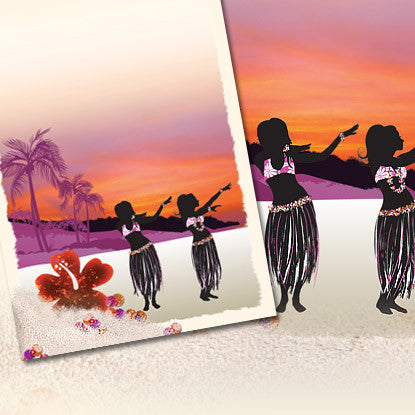 Confetti Celebrations Luau Imprintable