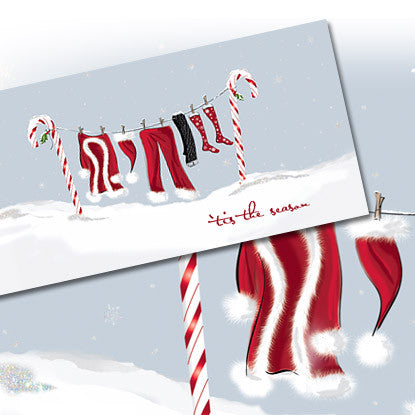 Holiday Chic North Pole Note Card