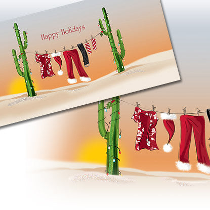Holiday Chic South Note Card