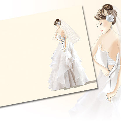 Très Chic Gown Imprintable with Swarovski Crystals