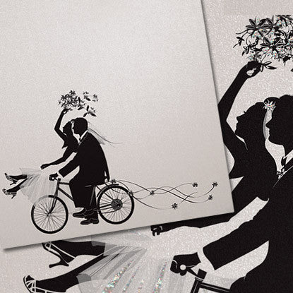 Life's Shadows™ Wedding Bicycle Imprintable
