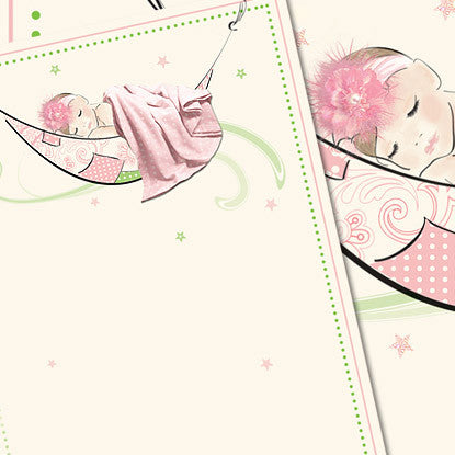Très Chic Baby Girl Imprintable