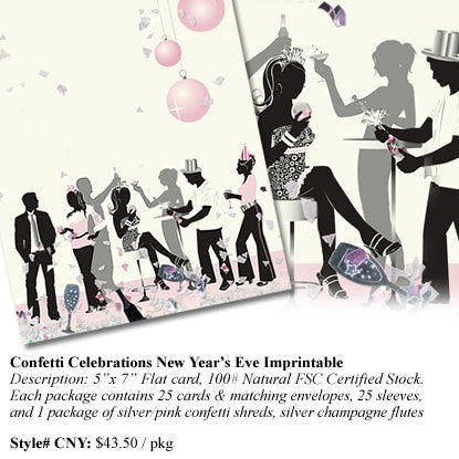 Confetti Celebrations New Year's Eve Imprintable
