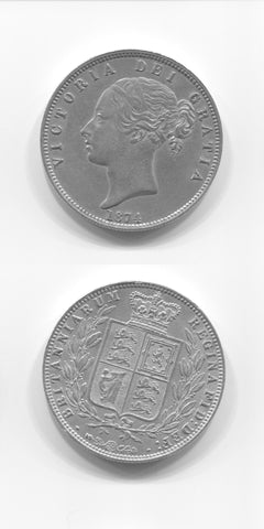 1874 Halfcrown GEF