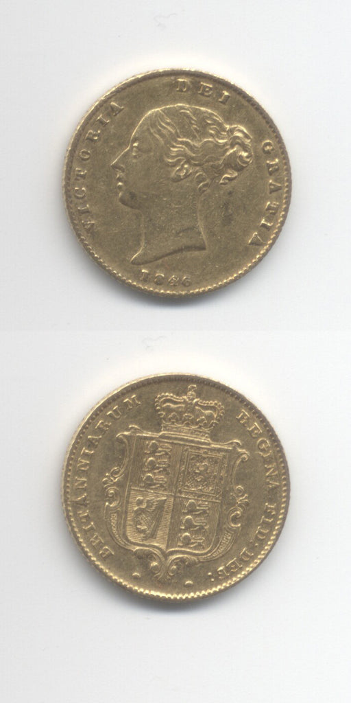 1846 Half Sovereign VF