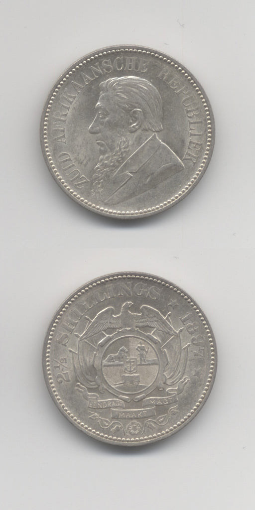 1897 South Africa Halfcrown UNC