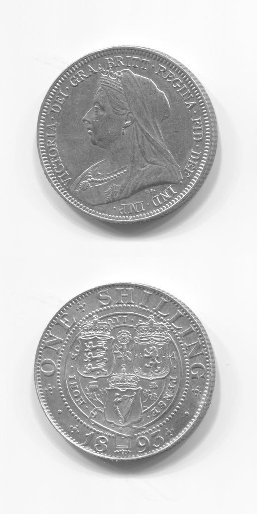 1893 Shilling Small  Letters  GEF/UNC