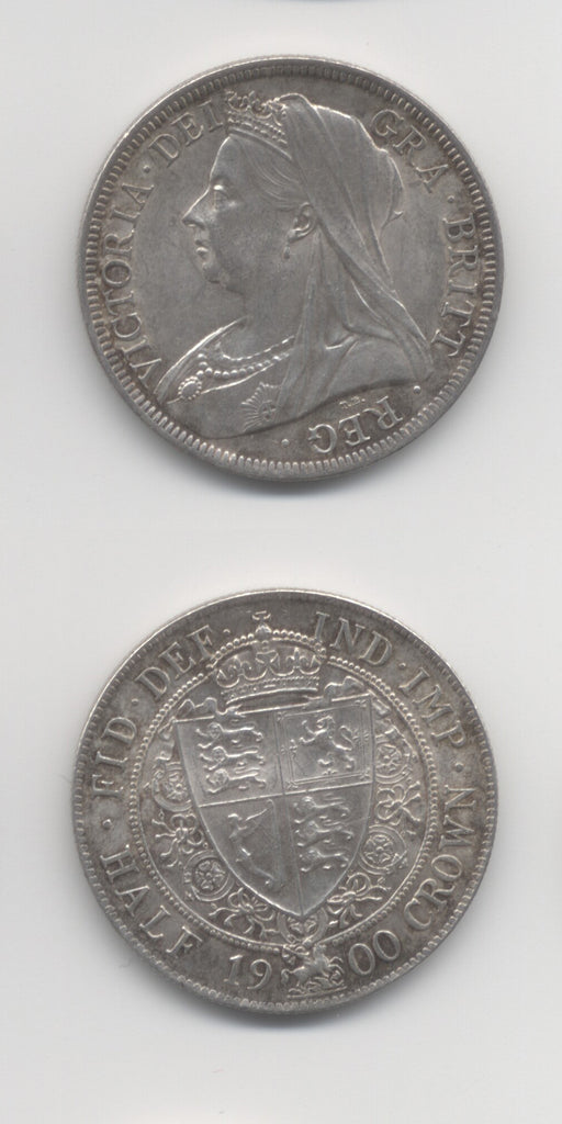 1900 Halfcrown UNC