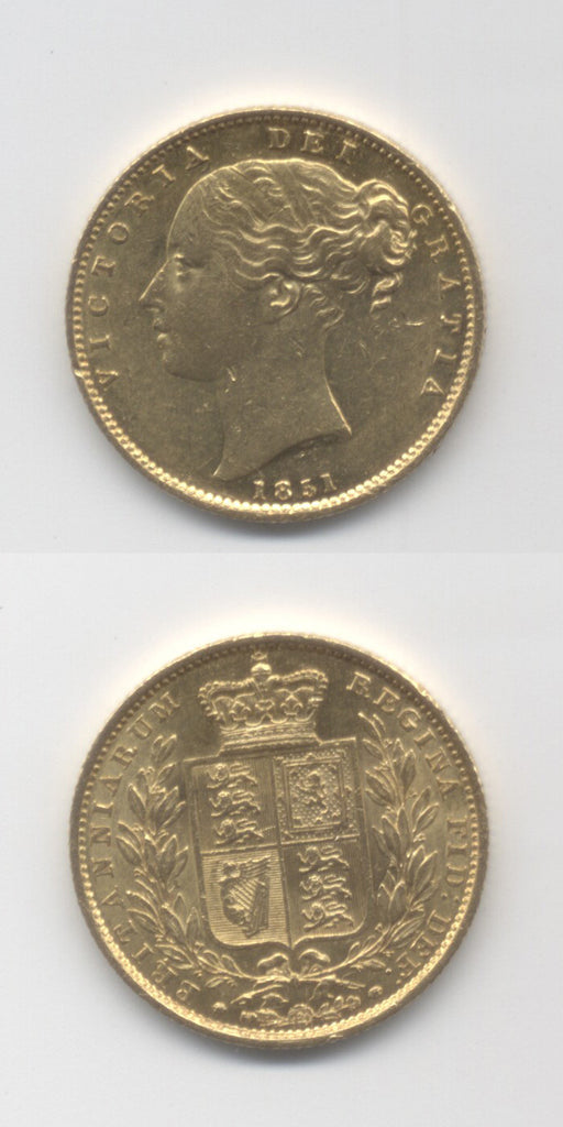 1851 Sovereign  AEF /GEF