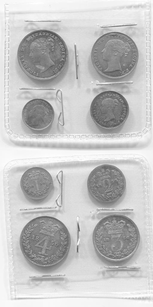 1856 Maundy Set EF/UNC