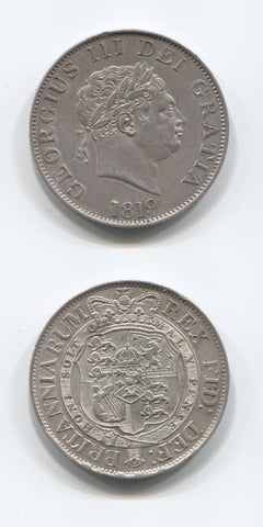 1819 George 111 Halfcrown EF+