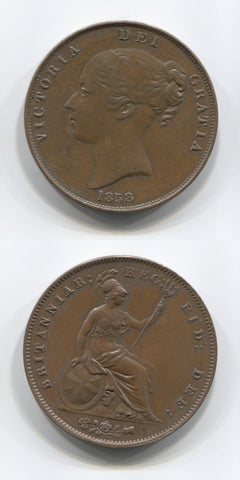 1858 Penny AEF