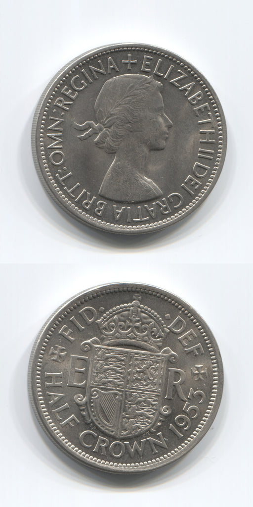 1953 Halfcrown UNC