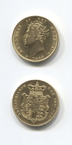 1825 George 1V Sovereign AEF/EF