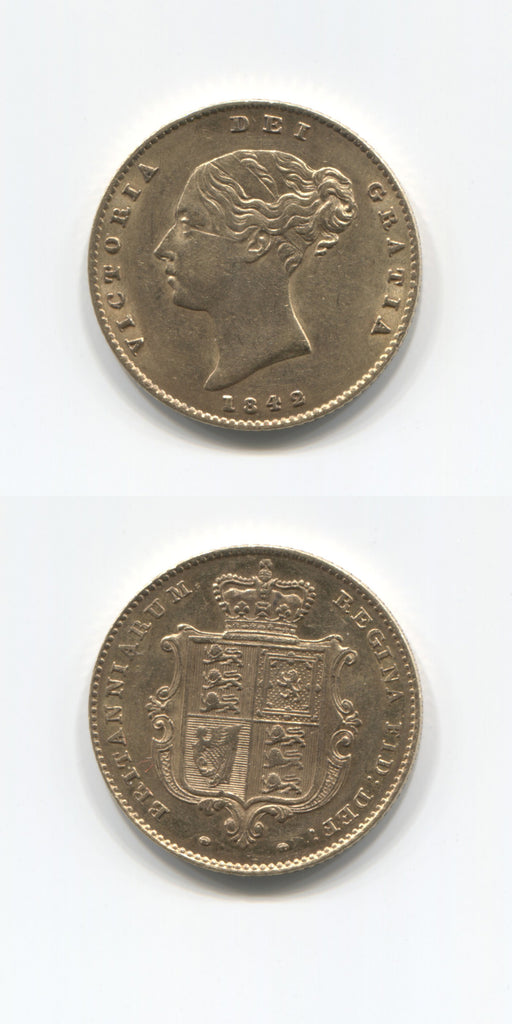 1842 Half Sovereign VF/GVF