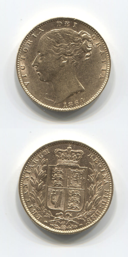 1864 Sovereign AEF/EF