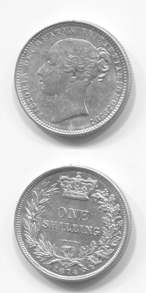 1874 Shilling AEF