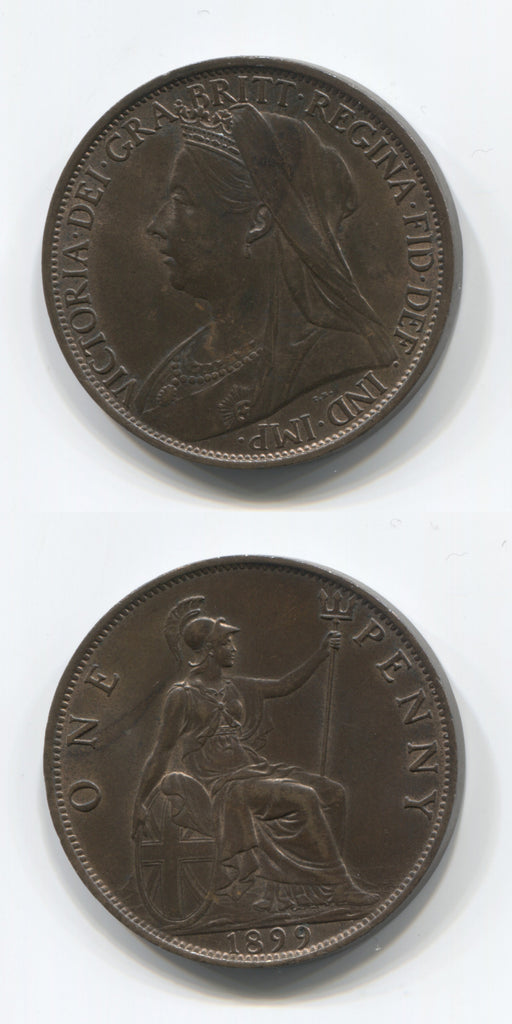 1899 Penny UNC