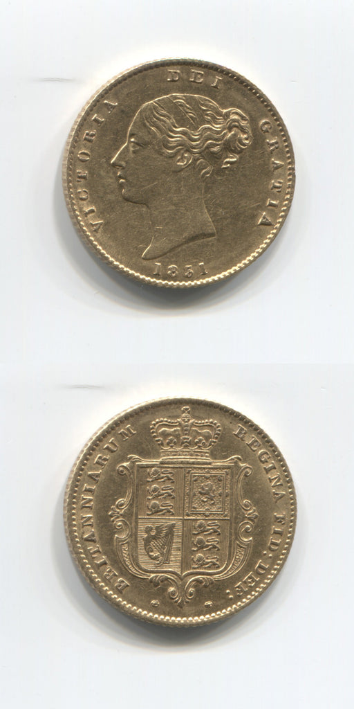 1851 Half Sovereign AEF