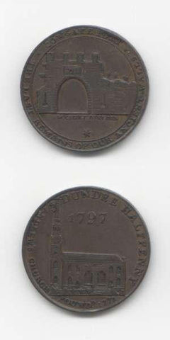 1797 Angusshire GEF Tokens 18/19 Th Century Scottish