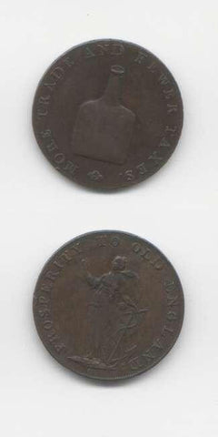 1793 Norfolk GVF Tokens 18th  Century