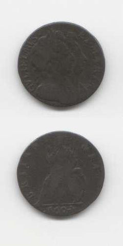 1694 William & Mary F Farthing