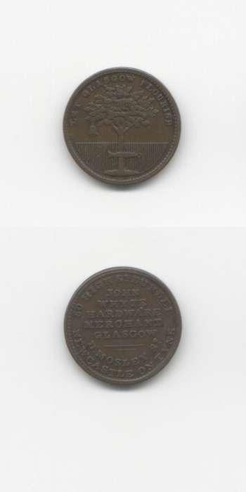 1820 Glasgow GVF Tokens 18/19 Th Century Scottish