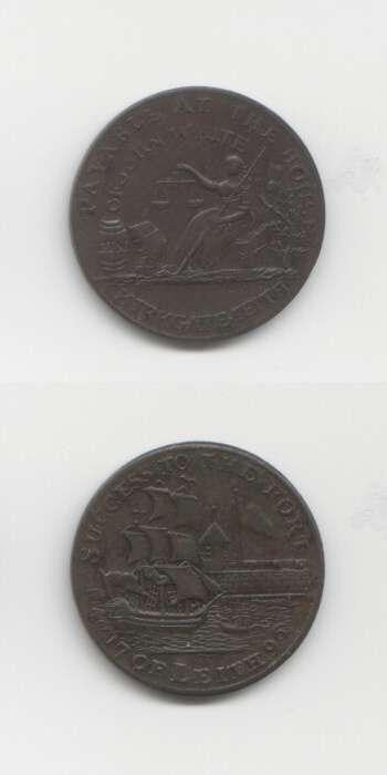 1796 Lothian GEF Tokens 18/19 Th Century Scottish