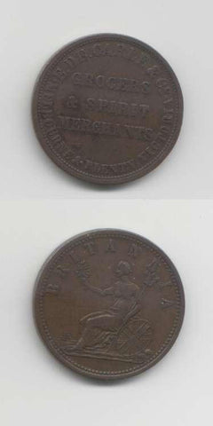 1862 Melbourne VF World Coins Australia
